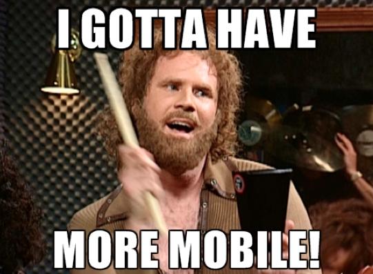 Mobile is HOT but desktop still dominates